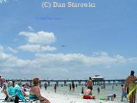 Fort Myers Beach Pier.  (Clicking on the image will take you to the photo collection page)