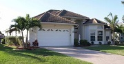 Example of a Cape Coral Gulf access waterfront home in the Four Mile Cove Eco Preserve neighborhoods