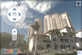 Click on image to view Google Street view images of Downtown Fort Myers / Central Fort Myers, Florida (opens in a pop up window)