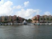 Bayfront Naples complex.  Includes shops, restaurants, condominiums and a marina.