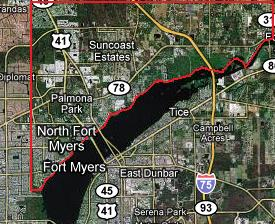 Clicking on this image will display all North Fort Myers, Florida Gulf access listings